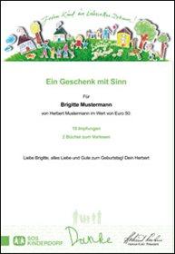 Geschenkurkunde | Quelle: SOS-Kinderdorf