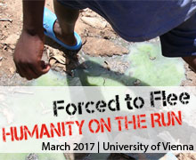 forced to flee humanity on the run
